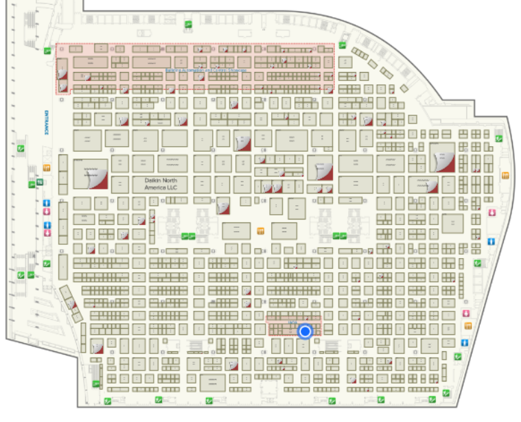 AHR Expo BreezoMeter Booth 7660 Exhibition Floor Plan.png
