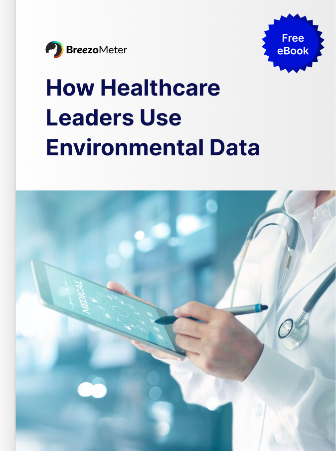 Healthcare leaders environmental data